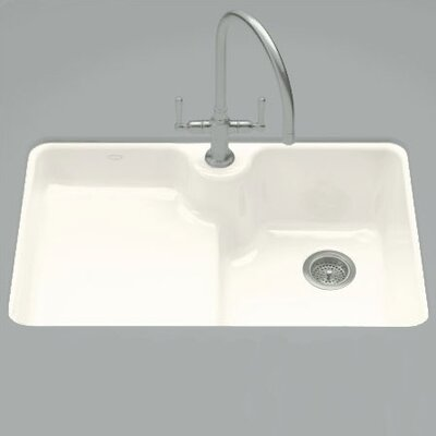 "Kohler Carrizo 33"" x 22"" Undercounter Kitchen Sink"