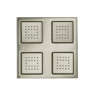 Kohler WaterTile 22-Nozzle Overhead Rain Showering Panel