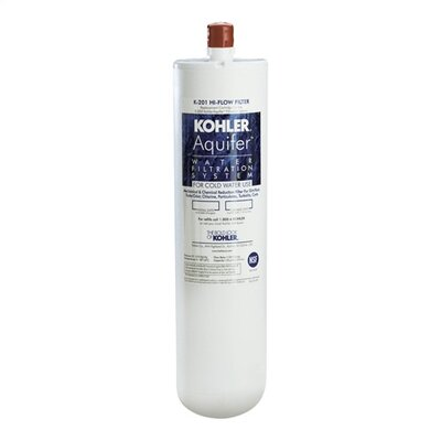 Kohler Aquifer High-Flow Refill Filter Cartridge