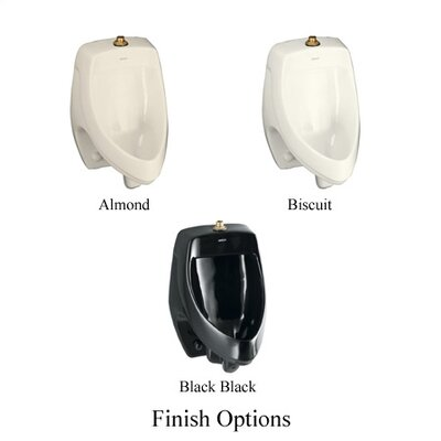 Kohler Dexter Elongated Urinal with Top Spud Set