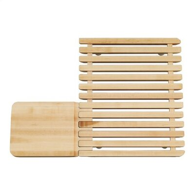 Kohler Epicurean Hardwood Cutting Board and Drain Board, for Use On Epicurean Sink