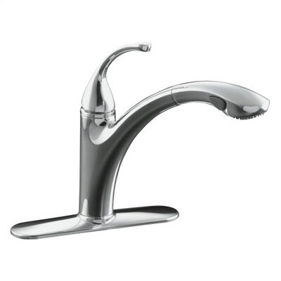 Kohler Forte Faucet : Kohler Fort? Single-Hole or 3-Hole Kitchen Sink Faucet with 10-1/8 ...