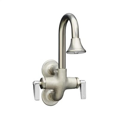 Kohler Cannock Wash Sink Faucet With Lever Handles Reviews Wayfair