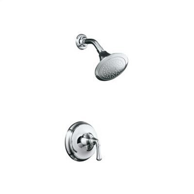 Kohler Forté Thermostatic Rite-Temp Pressure-Balancing Shower Faucet Trim with Traditional Lever Handle