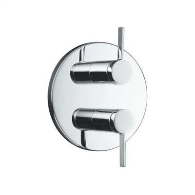 Kohler Stillness Stacked Valve Trim with Lever Handles, Valve Not Included