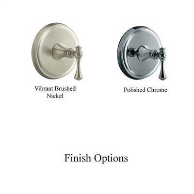 Kohler Revival Thermostatic Valve Trim with ADA Traditional  Lever Handle