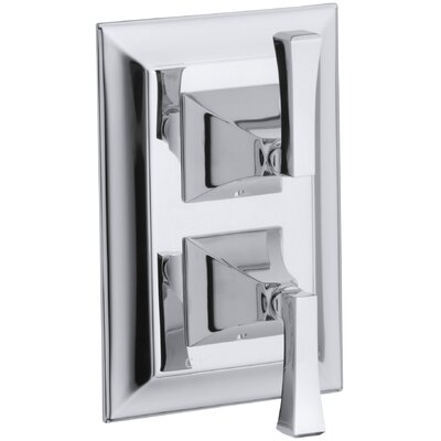 Kohler Memoirs Stacked Valve Trim with Stately Design and Deco Lever Handles, Valve Not Included