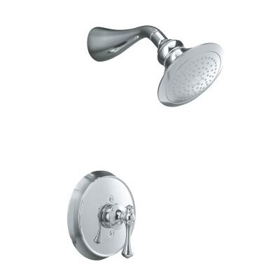 Kohler Revival Rite-Temp Pressure-Balancing Shower Faucet Trim with Traditional Lever Handle