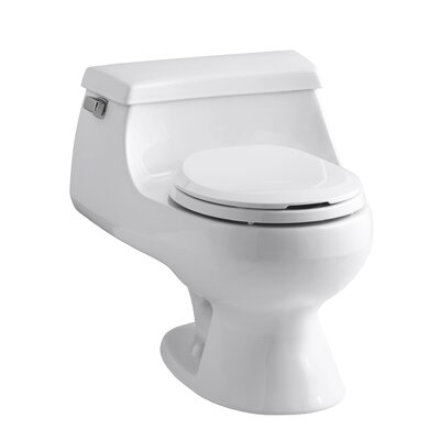 kohler rialto one piece round front 1 6 gpf toilet with. Black Bedroom Furniture Sets. Home Design Ideas