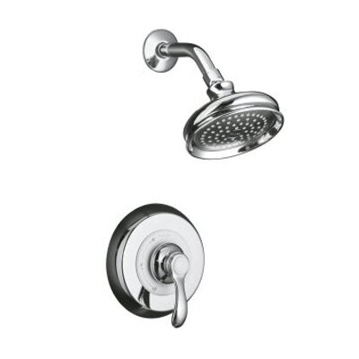 Kohler Fairfax Thermostatic Rite-Temp Pressure-Balancing Shower Faucet Trim with Lever Handle