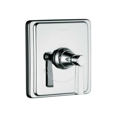 Kohler Pinstripe Pure Thermostatic Valve Trim, Lever Handle, Valve Not Included