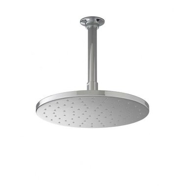 "Kohler Contemporary Round 12"" Rainhead with Katalyst Spray, 2.5 GPM"