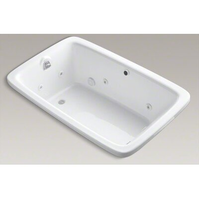 "Kohler Bancroft 65-7/8"" Drop In Jetted Whirlpool Bath Tub with Left Side Drain"