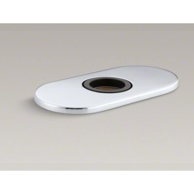 "Kohler Optional 4"" Escutcheon Round Plate for Insight Faucet"