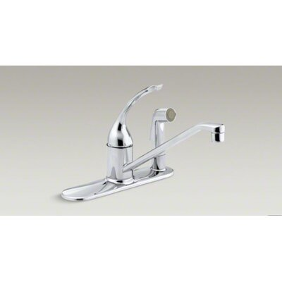 Coralais Three-Hole Kitchen Sink Faucet