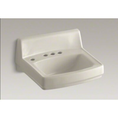 Greenwich Wall-Mounted Or Concealed Carrier Arm Mounted Commercial Bathroom Sink - K-2032-N-