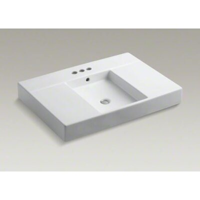 "Kohler Traverse Top and Basin Lavatory with 4"" Centers"