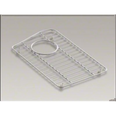 "Kohler Lawnfield Stainless Steel Bowl Rack, 15-13/32"" x 16-1/2"", For Right-Hand Bowl"