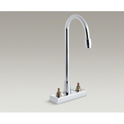 Kohler Triton Centerset Lavatory Faucet with Aerator, Requires Handles, Less Drain and Lift Rod