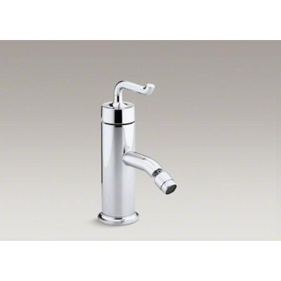 Kohler Purist Single-Control Bidet Faucet with Smile Design Handle