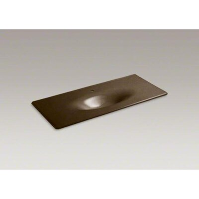 "Kohler Iron/Impressions 49"" Vanity-Top Bathroom Sink"
