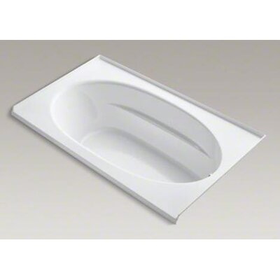 "Kohler Windward 72"" X 42"" Alcove Bubblemassage Air Bath with Integral Flange and Right-Hand Drain"