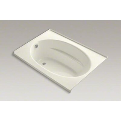 "Kohler Windward 60"" x 42"" Alcove Bubblemassage Air Tub with Three-Sided Integral Flange"