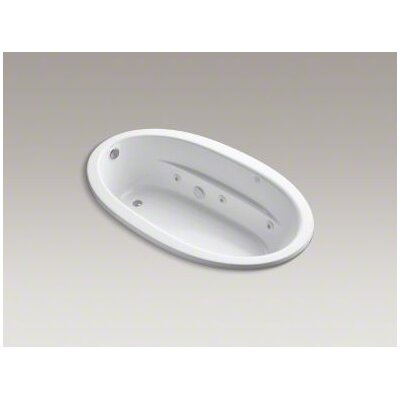 "Kohler Sunward 72"" X 42"" Drop-In Whirlpool Bath with Reversible Drain and Custom Pump Location"