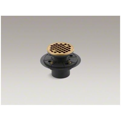 "Kohler 2"" Round Design Tile-in Grid Shower Drain"