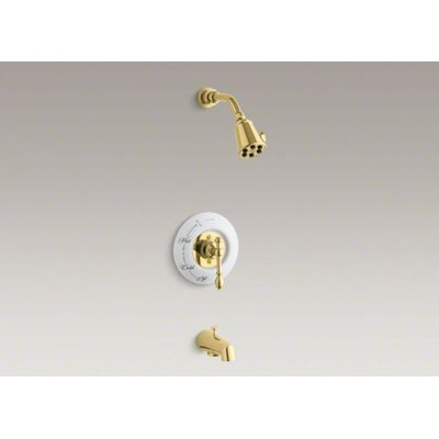 Kohler IV Georges Brass Rite-Temp Pressure-Balancing Bath and Shower Faucet Trim