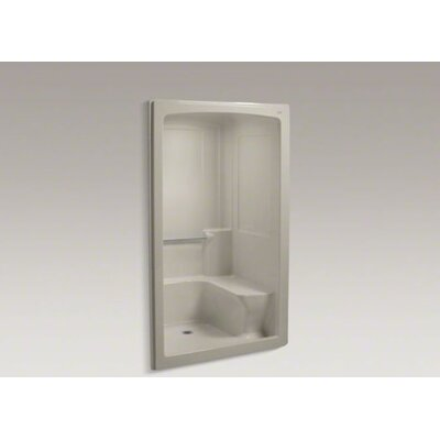 "Kohler Freewill Barrier-Free Shower Module with Seat On Right , 52"" X 37-1/2"" X 84"""