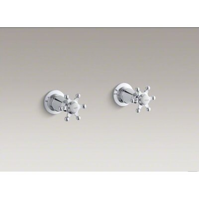 Kohler Antique Valve Trim with Six-Prong Handles