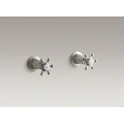 Kohler Antique Valve Shower Faucet Trim with Six-Prong Handles