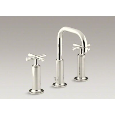 Kohler Purist Widespread Bathroom Faucet with Double High Cross Handles