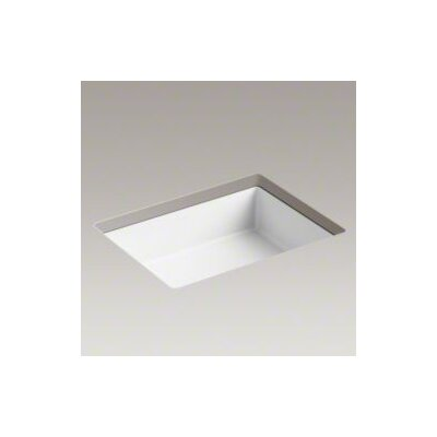 Kohler Verticyl Rectangle Undermount Bathroom Sink