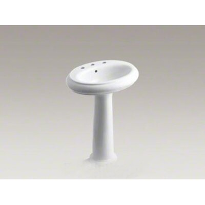 Revival Traditional Pedestal Bathroom Sink - K-2013-8