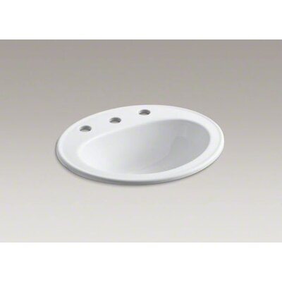 "Kohler Pennington Self-Rimming Lavatory with 8"" Centers"