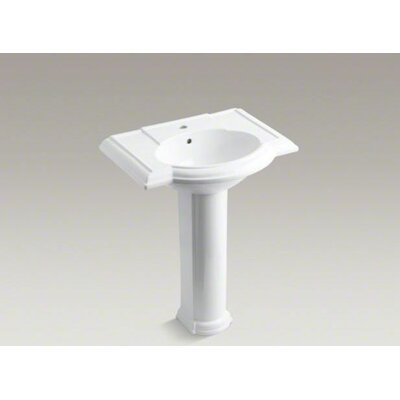 Pedestal Bathroom Sinks on Kohler Devonshire Pedestal Bathroom Sink Set   K 2294 8   Wayfair