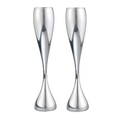 Nambe Bubbly Flutes (Set of 2)