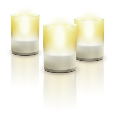 Philips Consumer Luminaire Six Light Candle Light in Transparent