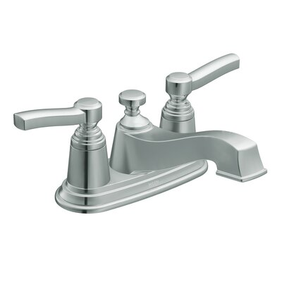 Moen Rothbury Centerset Bathroom Faucet with Double Handles
