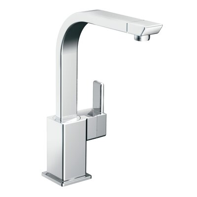 Moen 90 Degree One Handle Single Hole Kitchen Faucet