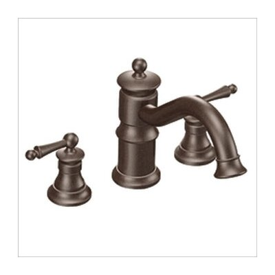 waterhill roman tub faucet in oil rubbed bronze by moen