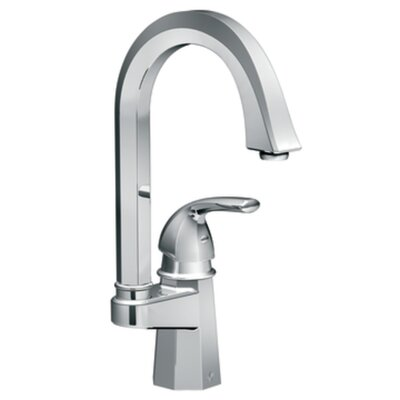 Moen Felicity One Handle Single Hole High Arc Single Mount Bar Faucet