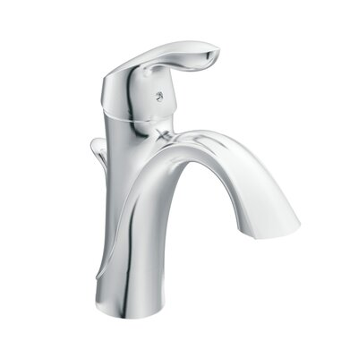 <strong>Moen</strong> Eva Single Hole Bathroom Faucet with Single Handle