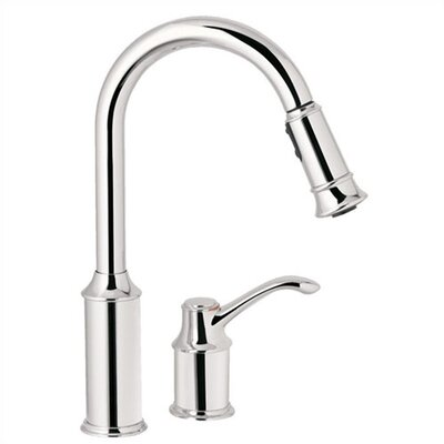Moen Single Handle Widespread High Arc Kitchen Faucet