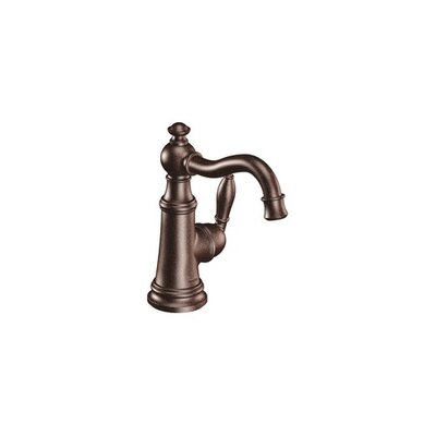 Moen Weymouth One Handle Centerset High Arc Bathroom Faucet