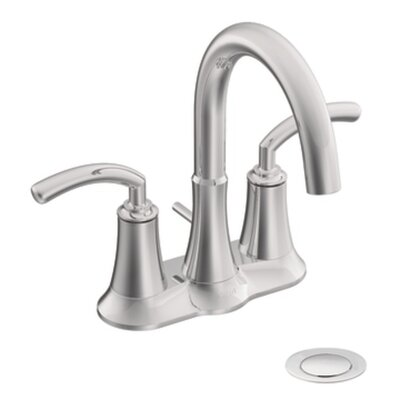 Icon Two Handle Centerset High Arc Bathroom Faucet - S6510