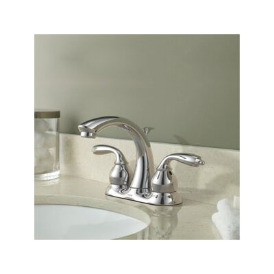 Moen Bayhill Two Handle Centerset Low Arc Lead Compliant  Bathroom Faucet