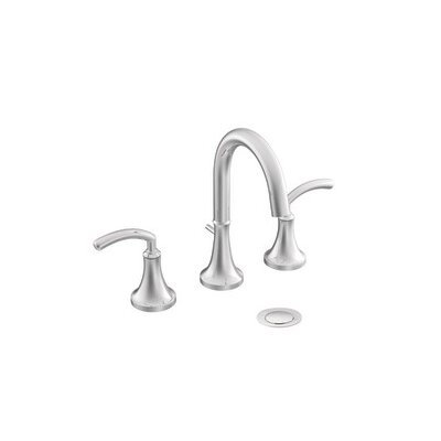 Moen Icon Double Handle Widespread High Arc Bathroom Faucet